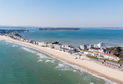 Sandbanks from the air thumbnail image